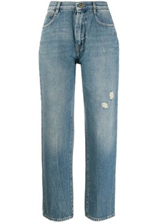 McQ Alexander McQueen faded straight-leg jeans