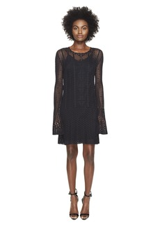 McQ Alexander McQueen Fine Crochet Dress