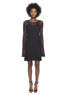 McQ Alexander McQueen Fine Crochet Dress