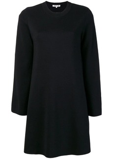 McQ Alexander McQueen flared round neck dress