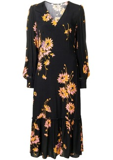 McQ Alexander McQueen floral dress