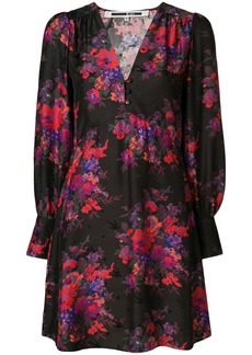 McQ Alexander McQueen floral printed dress
