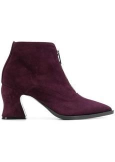 McQ Alexander McQueen front-zip ankle boots