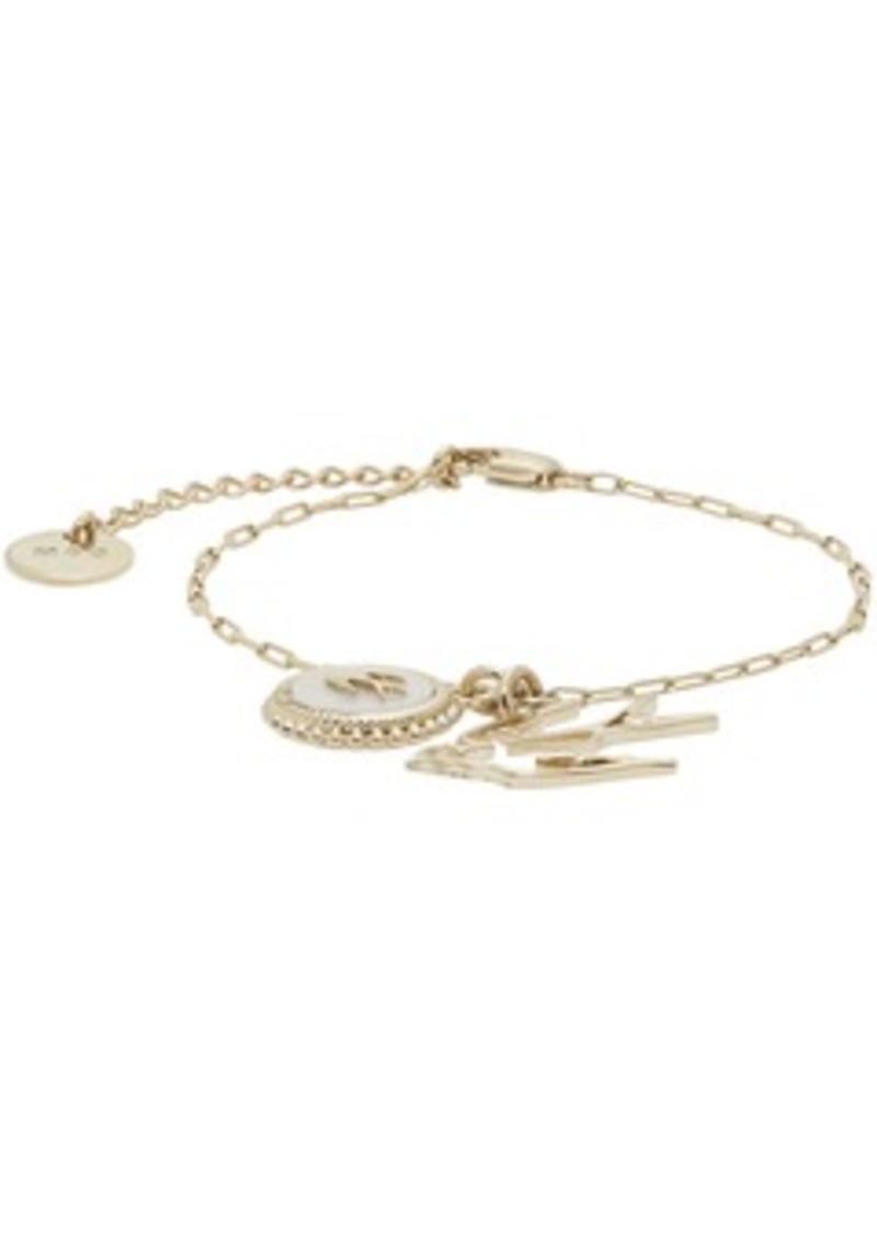 McQ Alexander McQueen Gold Double Swallow Bracelet