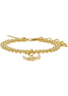 McQ Alexander McQueen Gold Swallow Bracelet