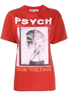 McQ Alexander McQueen graphic print cotton T-shirt