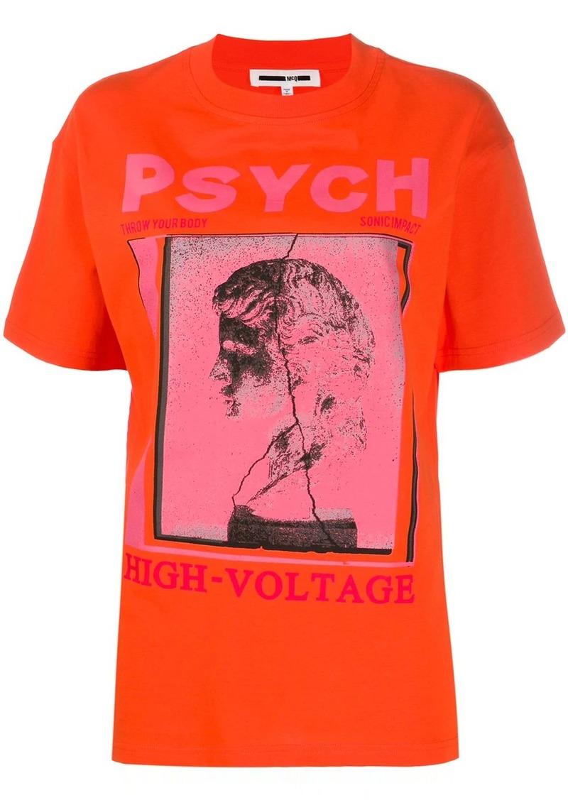 McQ Alexander McQueen graphic print T-shirt
