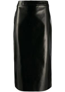 McQ Alexander McQueen high waisted fitted skirt