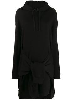 McQ Alexander McQueen hooded jumper dress