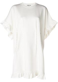 McQ Alexander McQueen hook detail dress