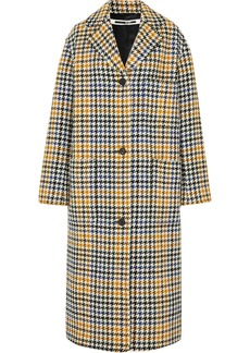 McQ Alexander McQueen Houndstooth Wool-blend Coat