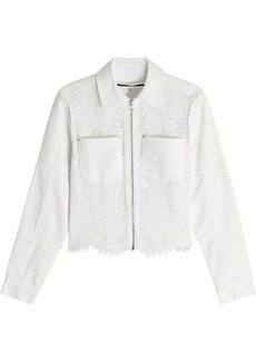 McQ Alexander McQueen Jacket with Lace