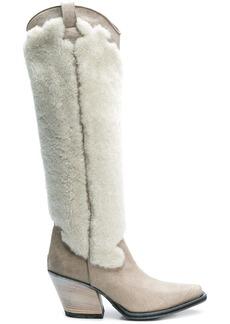 McQ Alexander McQueen knee length cowboy boots
