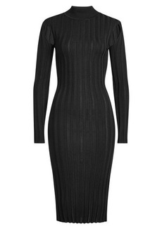 McQ Alexander McQueen Knit Dress with Turtleneck
