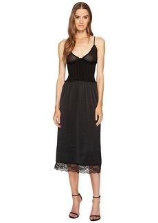 McQ Alexander McQueen Knit Lace Slip Dress
