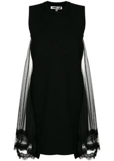 McQ Alexander McQueen lace back panel T-shirt dress