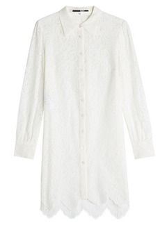 McQ Alexander McQueen Lace Shirt Dress
