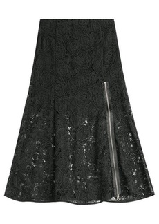 McQ Alexander McQueen Lace Skirt with Zipper