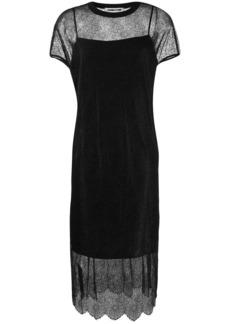 McQ Alexander McQueen lace slip dress
