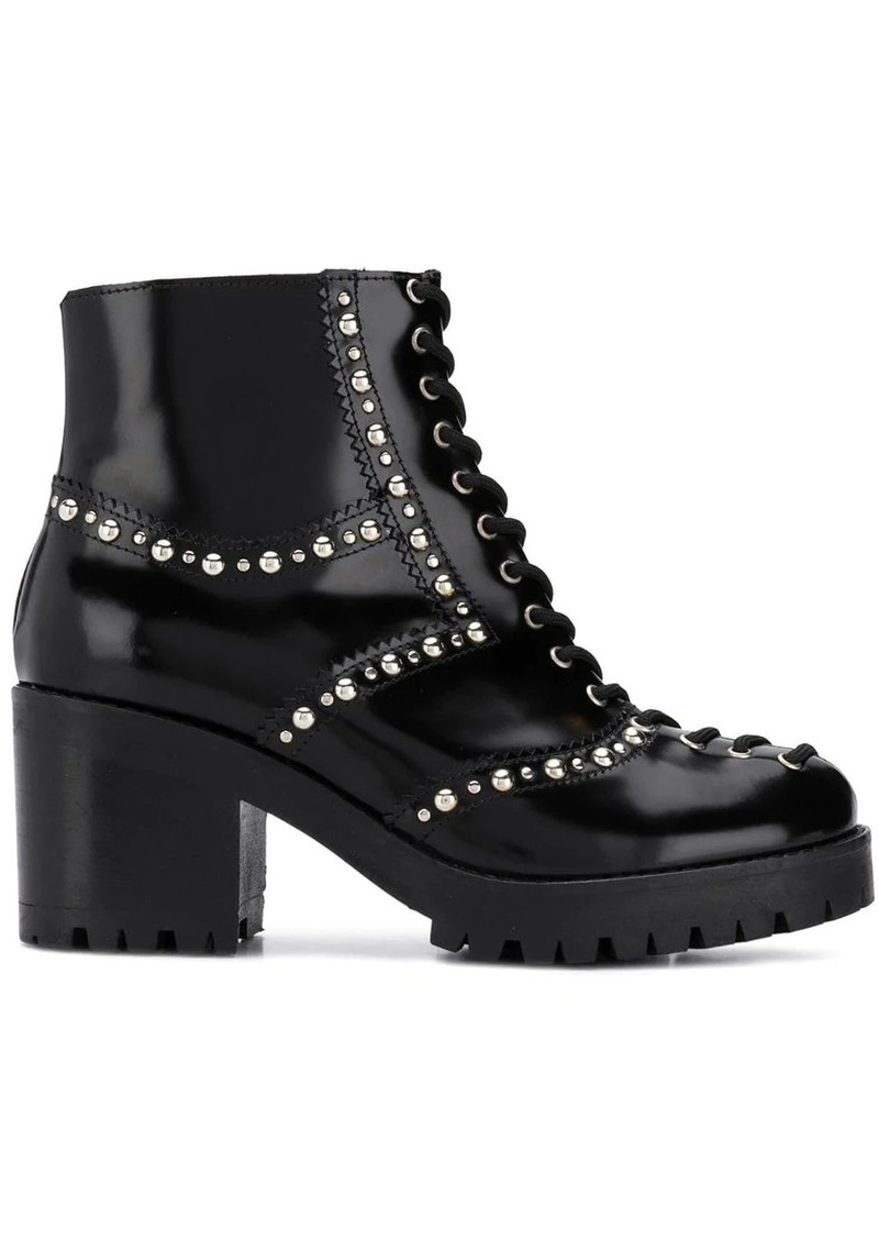 McQ Alexander McQueen lace-up chunky boots