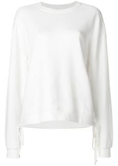 McQ Alexander McQueen lace-up detail sweatshirt