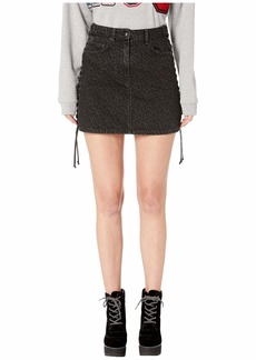 McQ Alexander McQueen Lace-Up Mini Skirt