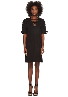 McQ Alexander McQueen Laced Tee Dress