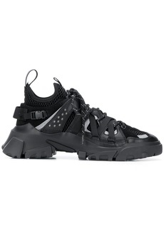 McQ Alexander McQueen layered lace up trainers
