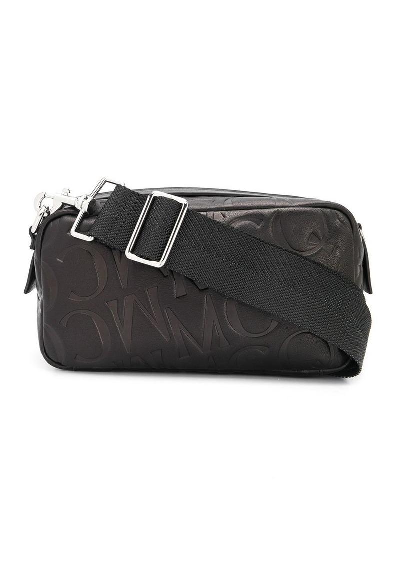 McQ Alexander McQueen logo embossed shoulder bag