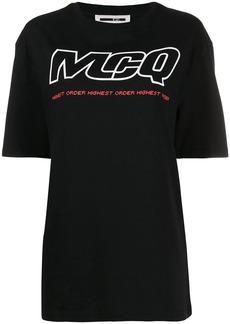 McQ Alexander McQueen logo print T-shirt