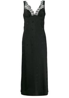McQ Alexander McQueen long sparrow print dress