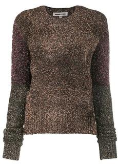 McQ Alexander McQueen lurex sweatshirt