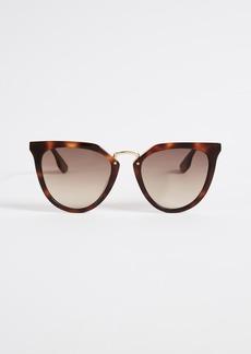 McQ Alexander McQueen McQ - Alexander McQueen Discord Edgy Cat Eye Sunglasses