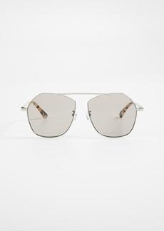 McQ Alexander McQueen McQ - Alexander McQueen Gravity Bar Sunglasses