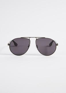 McQ Alexander McQueen McQ - Alexander McQueen Western Tear Drop Pilot Aviator Sunglasses