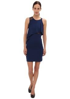 McQ 337738 RBJ45 4132 Mesh Lace Dress