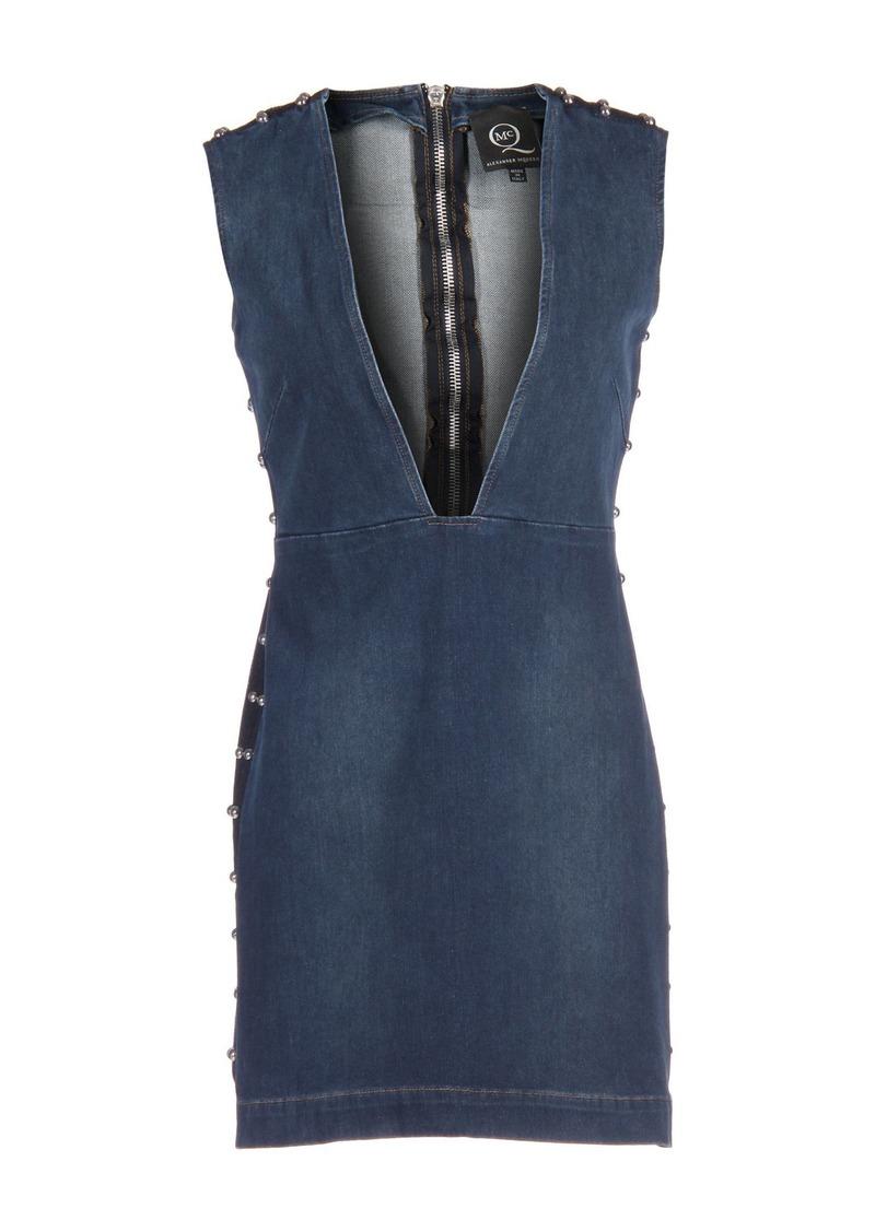 McQ Alexander McQueen - Denim dress