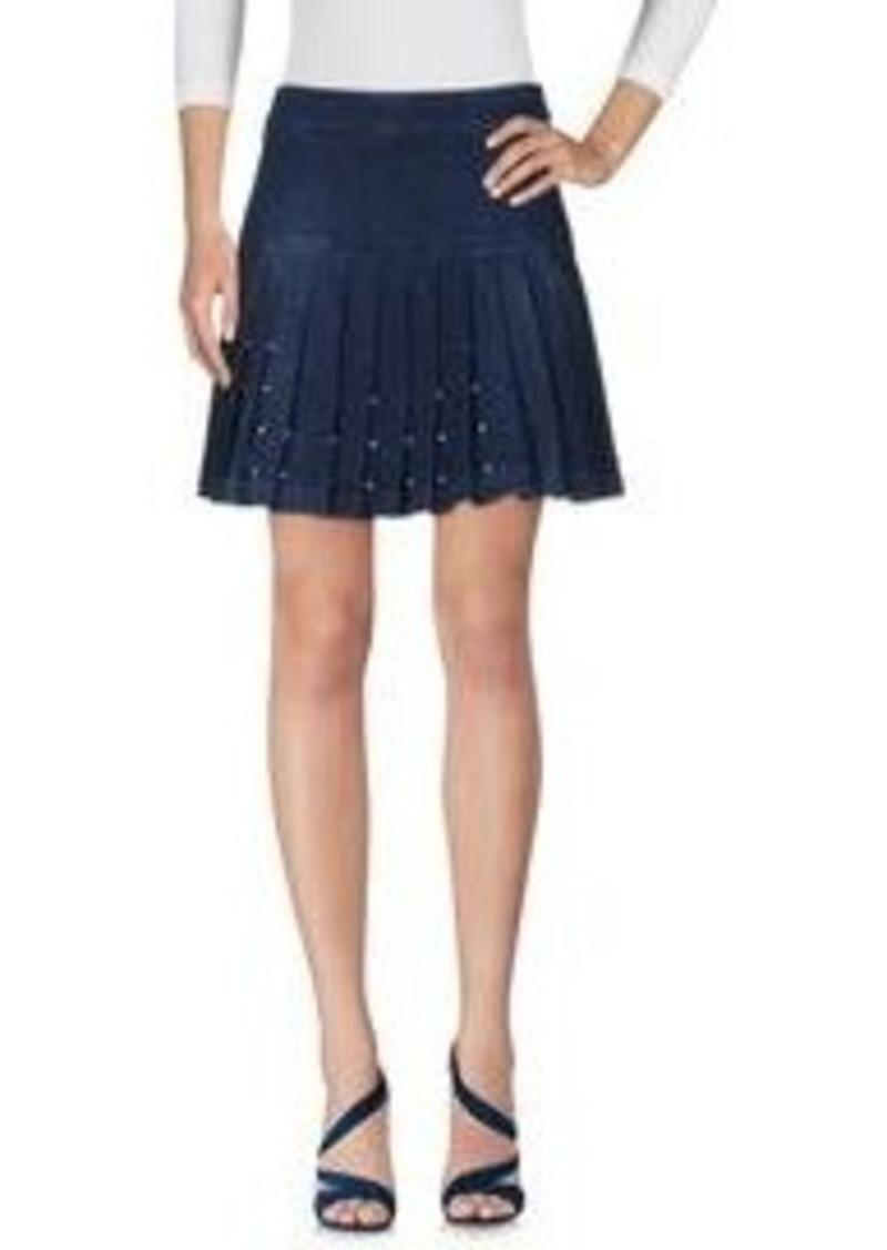 McQ Alexander McQueen - Denim skirt