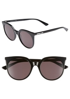 McQ Alexander McQueen 52mm Cat Eye Sunglasses