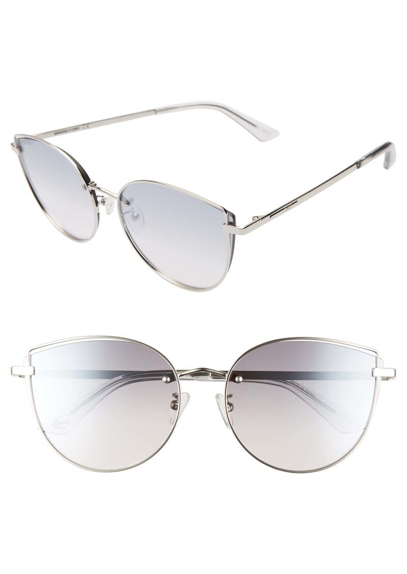 McQ Alexander McQueen 61mm Cat Eye Sunglasses