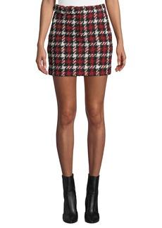 McQ Alexander McQueen Belted Mini Skirt