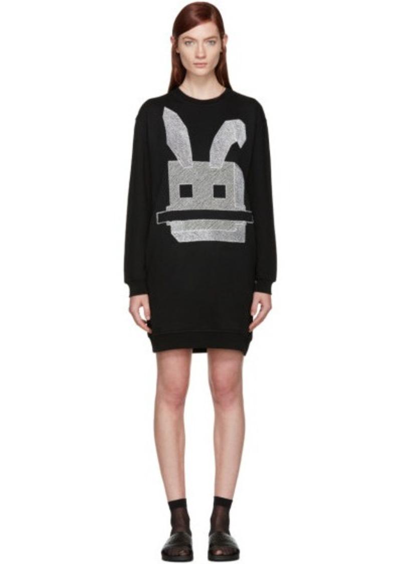 McQ Alexander Mcqueen Black Bunny Dress