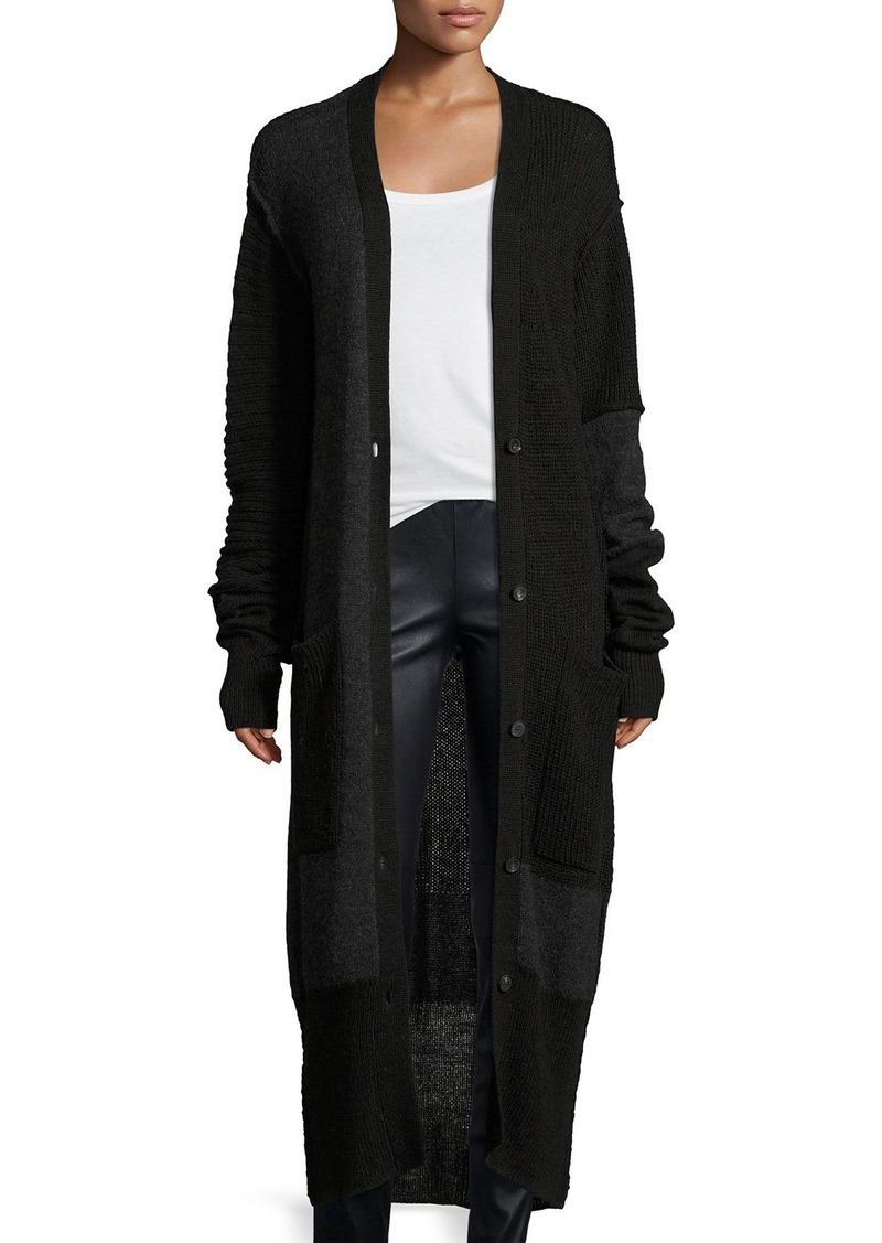 McQ Alexander McQueen McQ Alexander McQueen Button-Front Long ...