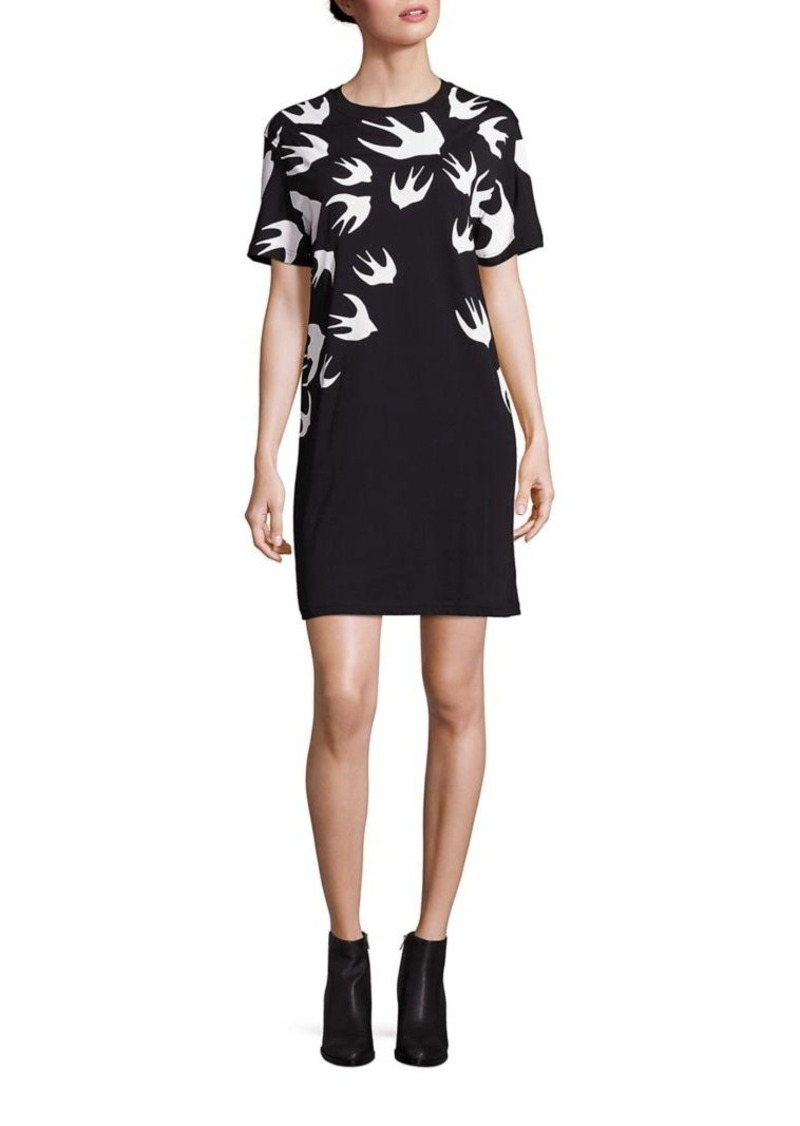 McQ Alexander McQueen Cotton T-Shirt Dress
