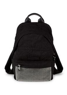 McQ Alexander McQueen Embellished Logo Backpack