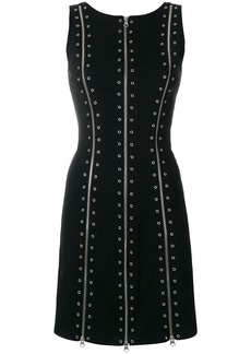 McQ Alexander McQueen eyelet detail dress