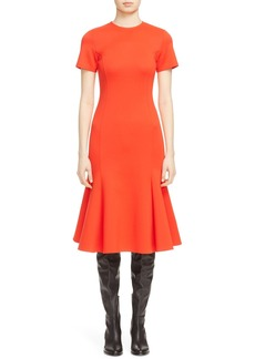 McQ Alexander McQueen Flared Body-Con Dress