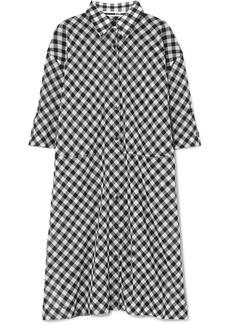 McQ Alexander McQueen Gingham cotton-voile dress