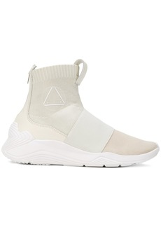 McQ Alexander McQueen hi-top sock sneakers - White
