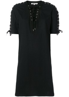 McQ Alexander McQueen lace-up detail dress
